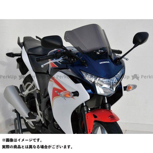 【エントリーで更にP5倍】アルマックス CBR250R スクリーン Aeromax(エアロタイプ) カラー:スモーク ERMAX