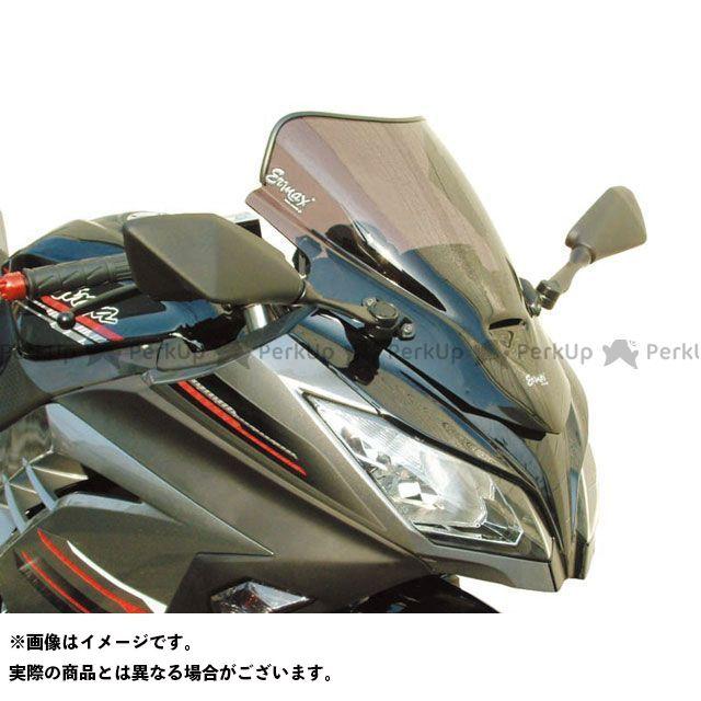 アルマックス ニンジャ250 スクリーン Aeromax(エアロタイプ) カラー:グレークリアー ERMAX