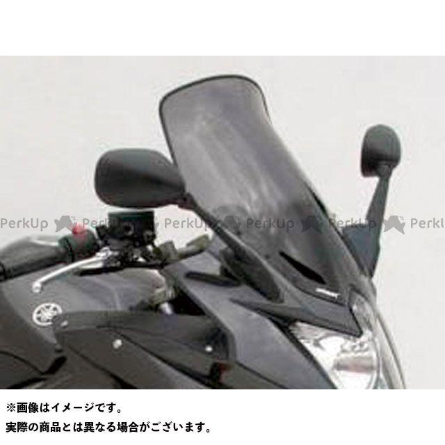 アルマックス XJ6ディバージョン スクリーン Bulles(スタンダードタイプ) 10cmロング カラー:グレークリアー ERMAX
