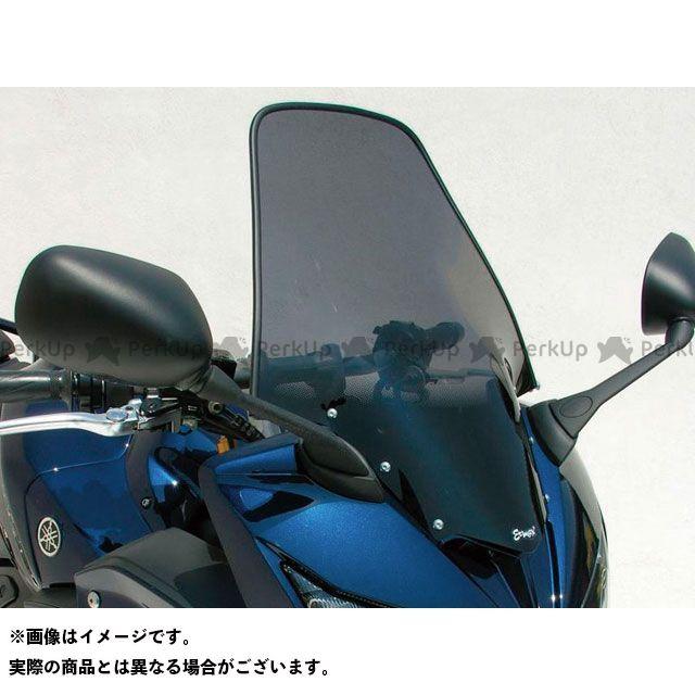 【エントリーで最大P21倍】アルマックス FZ1フェザー(FZ-1S) スクリーン Bulles(スタンダードタイプ) 10cmロング カラー:スモーク ERMAX