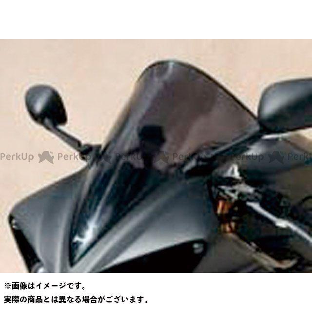 アルマックス YZF-R1 スクリーン Bulles(スタンダードタイプ) 5cmロング カラー:グレークリアー ERMAX