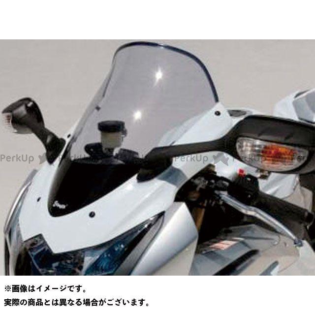 アルマックス GSX-R1000 スクリーン Bulles(スタンダードタイプ) 5cmロング カラー:スモーク ERMAX