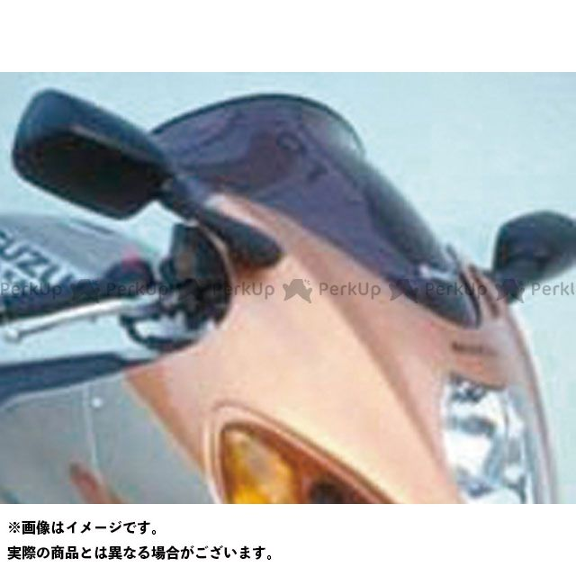 アルマックス 隼 ハヤブサ スクリーン Bulles(スタンダードタイプ) 8cmロング カラー:ヒュームクリアー ERMAX
