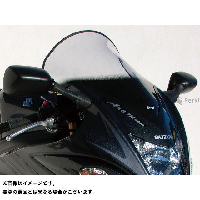 アルマックス 隼 ハヤブサ スクリーン Bulles(スタンダードタイプ) 8cmロング カラー:スモーク ERMAX