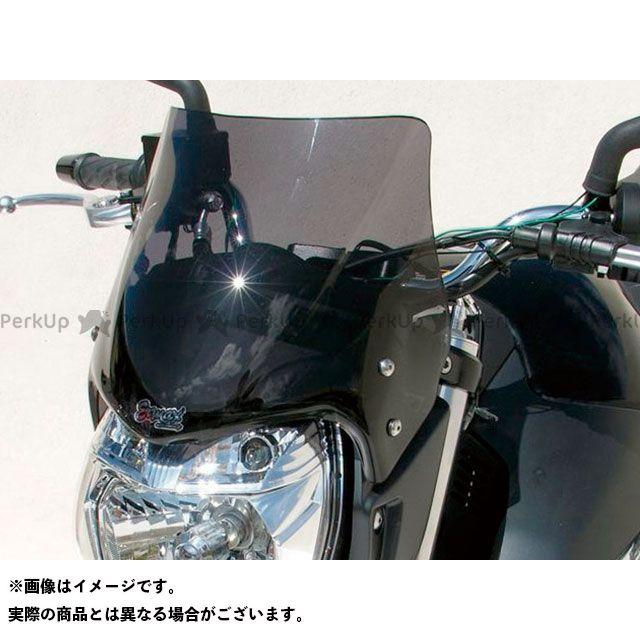 アルマックス GSR600 Saute vent メーターバイザー カラー:グレークリアー ERMAX