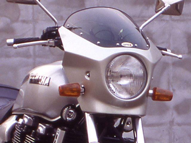 シックデザイン XJR1200 カウル・エアロ ハイグレード・ビキニカウル マスカロード ブルーイッシュブラック クリア