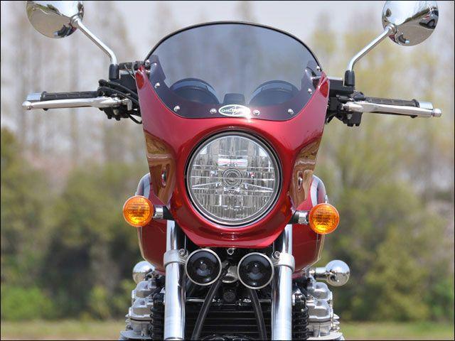 シックデザイン CB1100 CB1100EX カウル・エアロ スポーティミニカウル ロードコメット キャンディアリザリンレッド スモーク