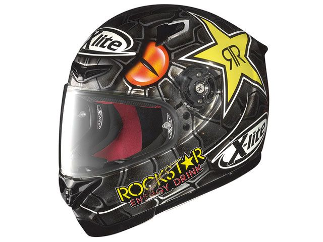 X-lite エックスライト フルフェイスヘルメット X-802R ロレンソ マンバ ブラック/48 XL/61-62cm