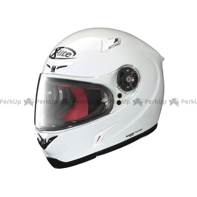 X-lite エックスライト フルフェイスヘルメット X-802R ソリッド ホワイト/11 XL/61-62cm