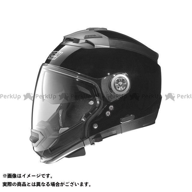 送料無料 NOLAN ノーラン システムヘルメット(フリップアップ) N44 ソリッド グロッシーブラック/3 M/57-58cm