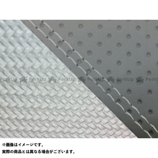 【エントリーで最大P23倍】グロンドマン MT-09 MT-09/FZ-09 国産シートカバー エンボス灰&カーボン銀 タイプ:張替 仕様:透明ダブルステッチ Grondement