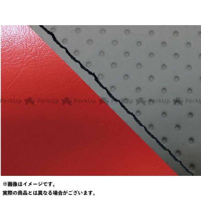 グロンドマン MT-09 MT-09/FZ-09 国産シートカバー エンボス灰&赤 タイプ:張替 仕様:黒ステッチ Grondement