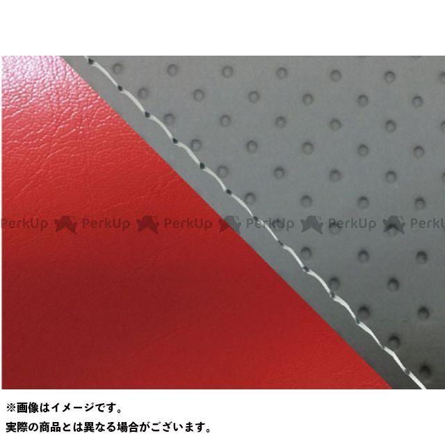 MT-09/FZ-09 Grondement 【エントリーで最大P19倍】グロンドマン 仕様:透明ステッチ 国産シートカバー タイプ:張替 MT-09 エンボス灰&赤