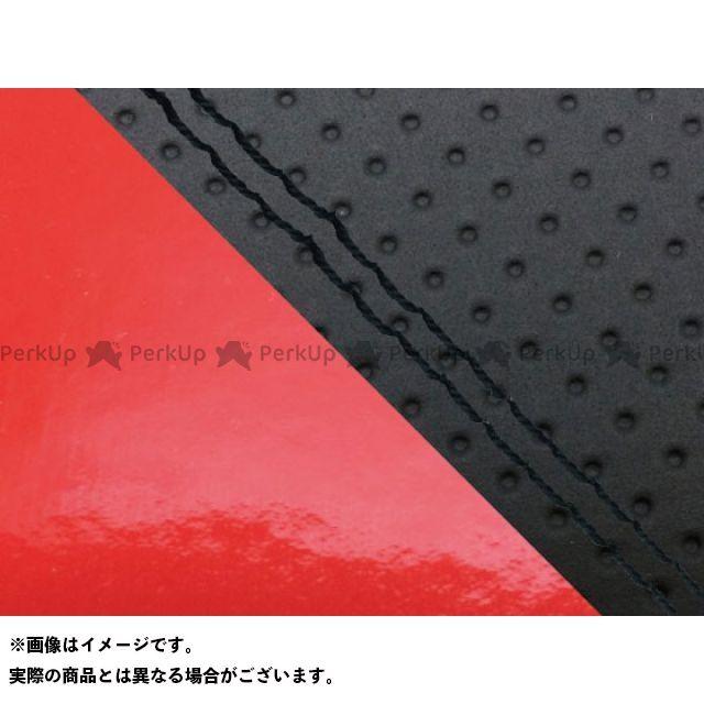 グロンドマン MT-09 MT-09/FZ-09 国産シートカバー エンボス黒&エナメルレッド タイプ:張替 仕様:黒ダブルステッチ Grondement