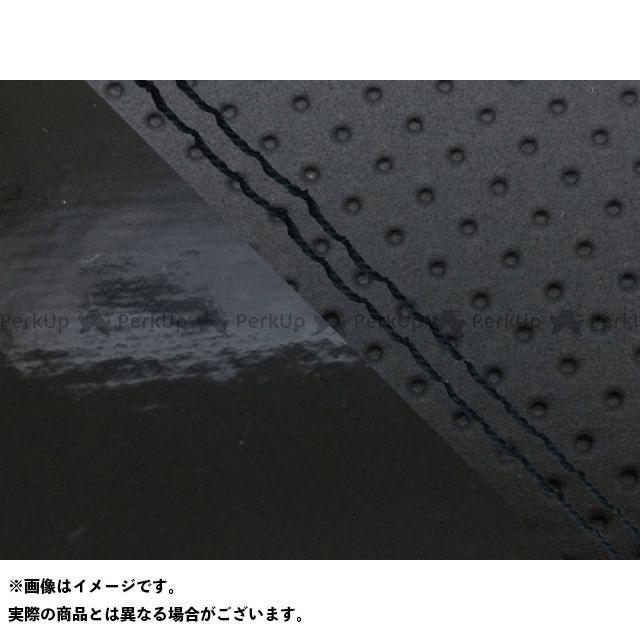 グロンドマン MT-09 MT-09/FZ-09 国産シートカバー エンボス黒&エナメル黒 タイプ:張替 仕様:黒ダブルステッチ Grondement