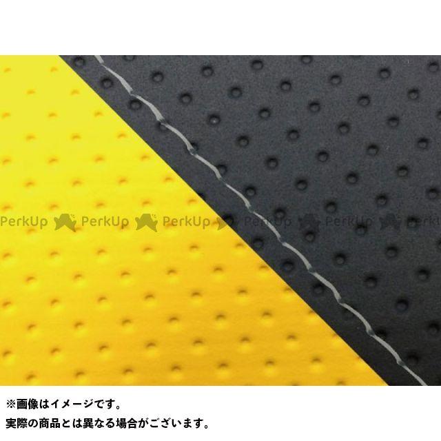 グロンドマン MT-09 MT-09/FZ-09 国産シートカバー エンボス黒&エンボスイエロー タイプ:張替 仕様:透明ステッチ Grondement