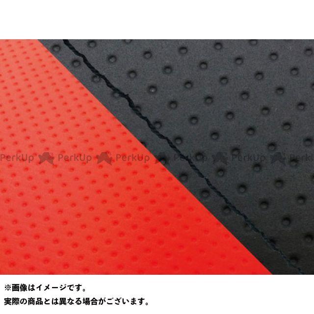 グロンドマン MT-09 MT-09/FZ-09 国産シートカバー エンボス黒&エンボスレッド タイプ:張替 仕様:黒ステッチ Grondement