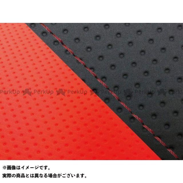 グロンドマン MT-09 MT-09/FZ-09 国産シートカバー エンボス黒&エンボスレッド タイプ:張替 仕様:赤ステッチ Grondement