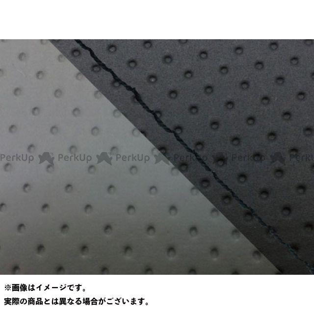 グロンドマン MT-09 MT-09/FZ-09 国産シートカバー エンボス黒&エンボス灰 タイプ:張替 仕様:黒ステッチ Grondement