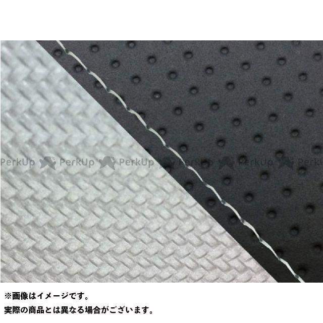 グロンドマン MT-09 MT-09/FZ-09 国産シートカバー エンボス黒&カーボン銀 タイプ:張替 仕様:透明ステッチ Grondement