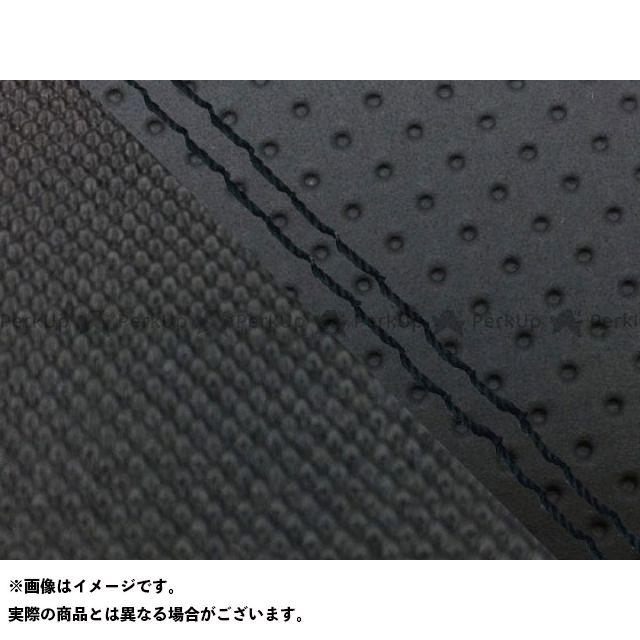 グロンドマン MT-09 MT-09/FZ-09 国産シートカバー エンボス黒&スベラーヌ黒 タイプ:張替 仕様:黒ダブルステッチ Grondement