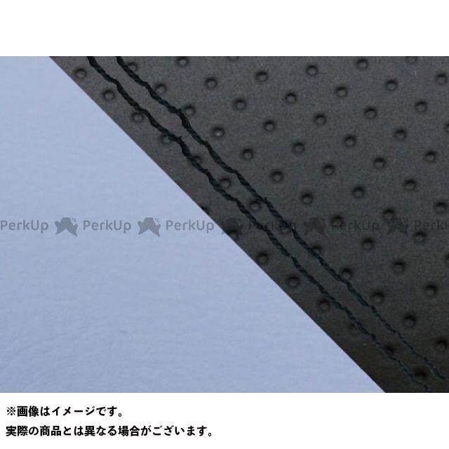 グロンドマン MT-09 MT-09/FZ-09 国産シートカバー エンボス黒&ライト青 タイプ:張替 仕様:黒ダブルステッチ Grondement