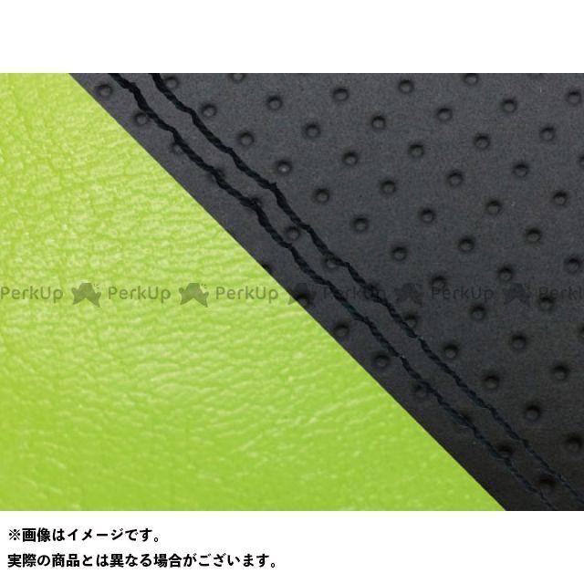 グロンドマン MT-09 MT-09/FZ-09 国産シートカバー エンボス黒&ライムグリーン タイプ:張替 仕様:黒ダブルステッチ Grondement