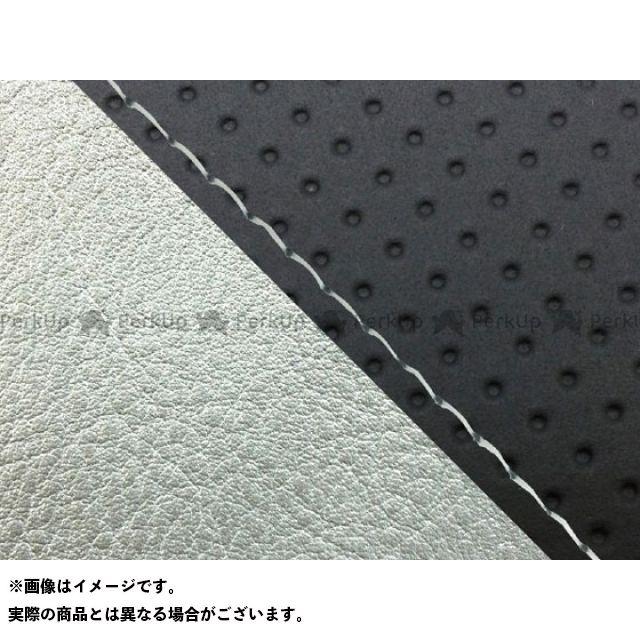 グロンドマン MT-09 MT-09/FZ-09 国産シートカバー エンボス黒&銀 タイプ:張替 仕様:透明ステッチ Grondement