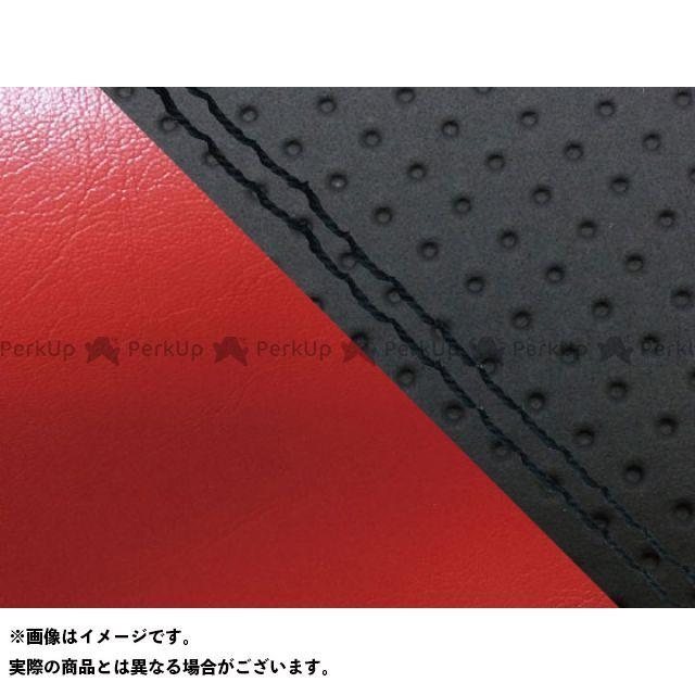 送料無料 グロンドマン MT-09 シート関連パーツ MT-09/FZ-09 国産シートカバー エンボス黒&赤 張替 黒ダブルステッチ