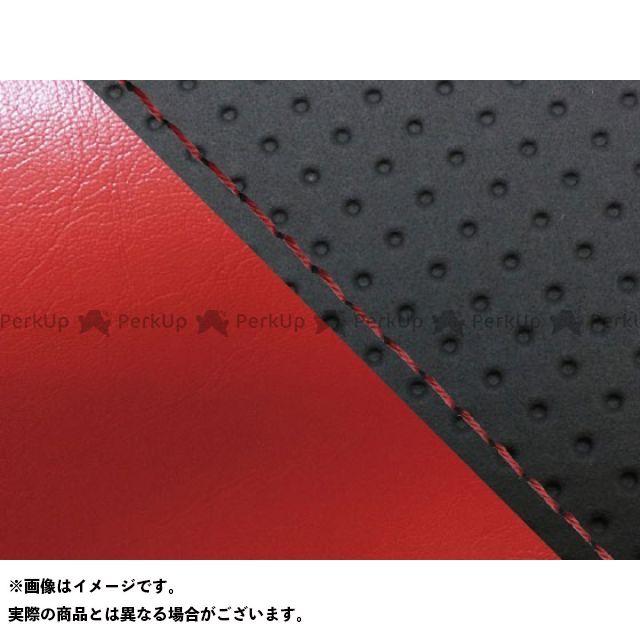 グロンドマン MT-09 MT-09/FZ-09 国産シートカバー エンボス黒&赤 タイプ:張替 仕様:赤ステッチ Grondement