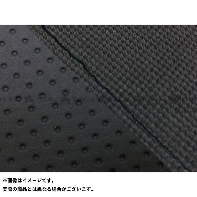 グロンドマン MT-09 MT-09/FZ-09 国産シートカバー スベラーヌ黒&エンボス黒 タイプ:張替 仕様:黒ステッチ Grondement