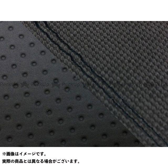 グロンドマン MT-09 MT-09/FZ-09 国産シートカバー スベラーヌ黒&エンボス黒 タイプ:張替 仕様:黒ダブルステッチ Grondement