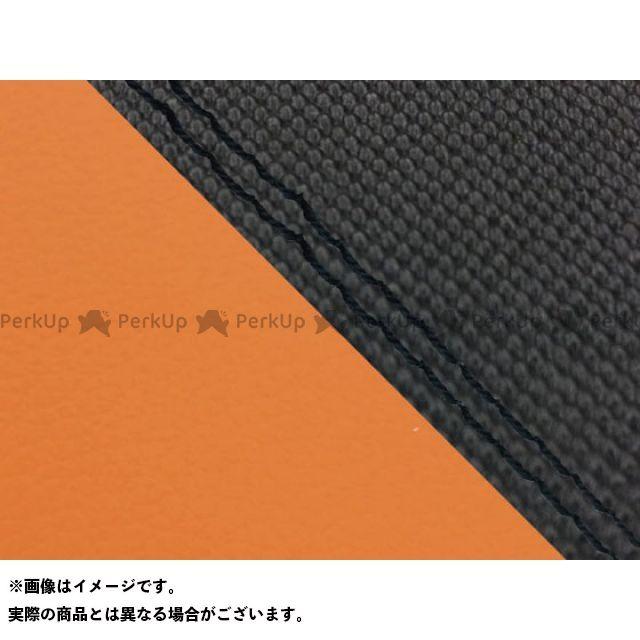 グロンドマン MT-09 MT-09/FZ-09 国産シートカバー スベラーヌ黒&オレンジ タイプ:張替 仕様:黒ダブルステッチ Grondement