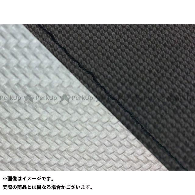 グロンドマン MT-09 MT-09/FZ-09 国産シートカバー スベラーヌ黒&カーボン銀 タイプ:張替 仕様:黒ステッチ Grondement