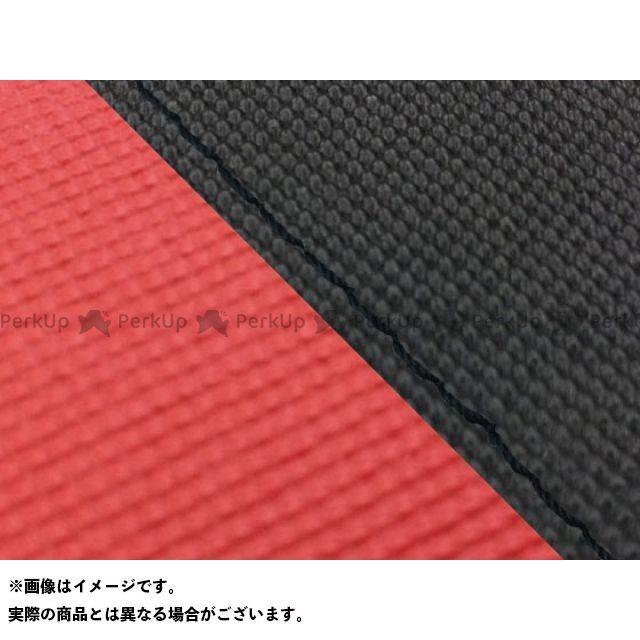 グロンドマン MT-09 MT-09/FZ-09 国産シートカバー スベラーヌ黒&スベラーヌレッド タイプ:張替 仕様:黒ステッチ Grondement