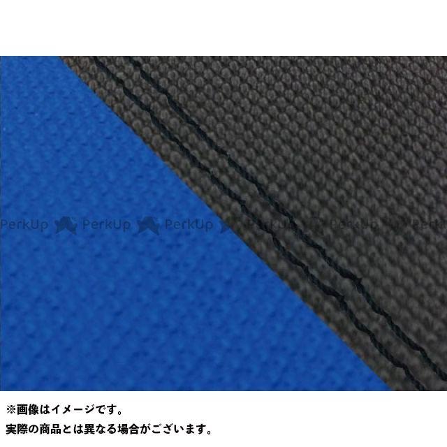 グロンドマン MT-09 MT-09/FZ-09 国産シートカバー スベラーヌ黒&スベラーヌ青 タイプ:張替 仕様:黒ダブルステッチ Grondement