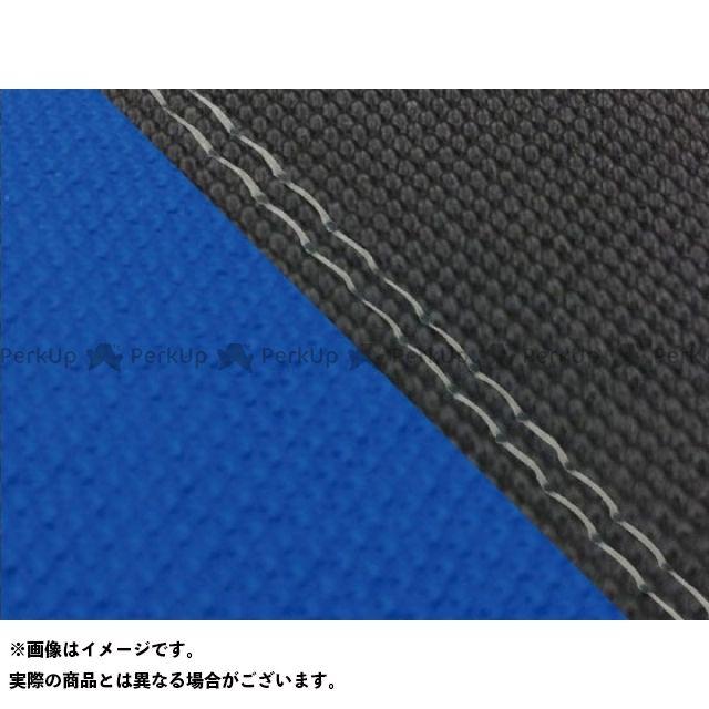 グロンドマン MT-09 MT-09/FZ-09 国産シートカバー スベラーヌ黒&スベラーヌ青 タイプ:張替 仕様:透明ダブルステッチ Grondement