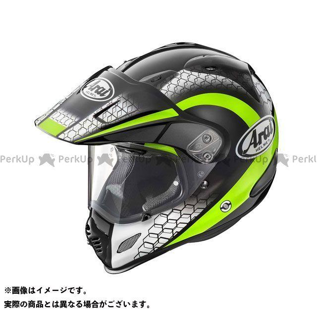 送料無料 アライ ヘルメット Arai オフロードヘルメット TOUR CROSS 3 MESH(ツアークロス3・メッシュ) イエロー 55-56cm