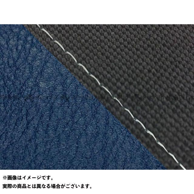 グロンドマン MT-09 MT-09/FZ-09 国産シートカバー スベラーヌ黒&ネイビー タイプ:張替 仕様:透明ステッチ Grondement
