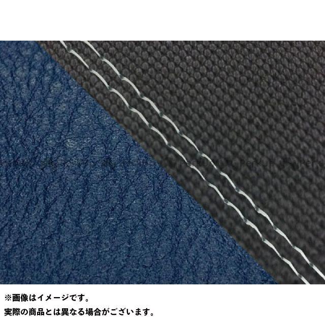 【エントリーで最大P23倍】グロンドマン MT-09 MT-09/FZ-09 国産シートカバー スベラーヌ黒&ネイビー タイプ:張替 仕様:透明ダブルステッチ Grondement