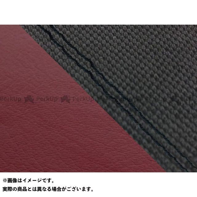 【エントリーで最大P23倍】グロンドマン MT-09 MT-09/FZ-09 国産シートカバー スベラーヌ黒&ワインレッド タイプ:張替 仕様:黒ダブルステッチ Grondement