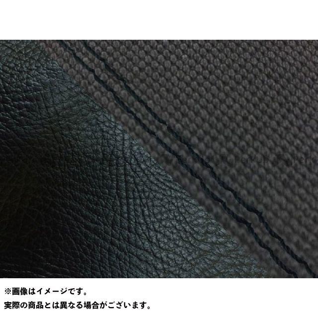 【エントリーで最大P23倍】グロンドマン MT-09 MT-09/FZ-09 国産シートカバー スベラーヌ黒&黒 タイプ:張替 仕様:黒ダブルステッチ Grondement