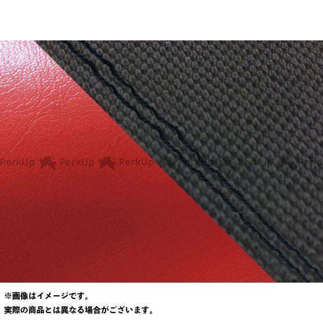 【エントリーで最大P23倍】グロンドマン MT-09 MT-09/FZ-09 国産シートカバー スベラーヌ黒&赤 タイプ:張替 仕様:黒ダブルステッチ Grondement