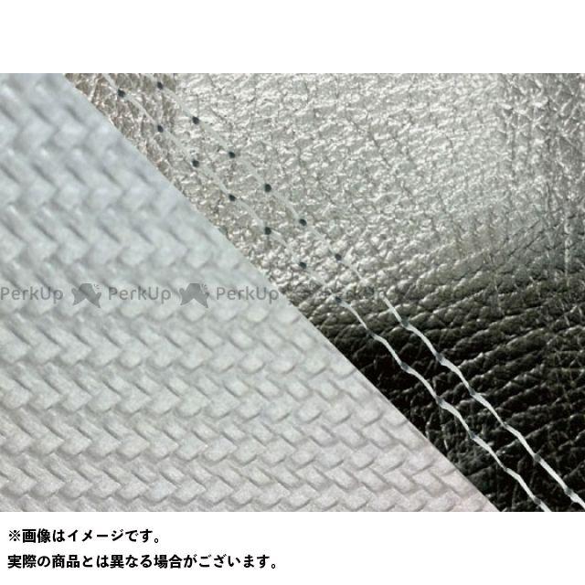 【エントリーで最大P23倍】グロンドマン MT-09 MT-09/FZ-09 国産シートカバー 黒&カーボン銀 タイプ:張替 仕様:透明ダブルステッチ Grondement