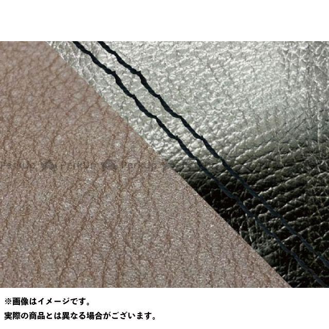 【エントリーで最大P23倍】グロンドマン MT-09 MT-09/FZ-09 国産シートカバー 黒&ダークブラウン タイプ:張替 仕様:黒ダブルステッチ Grondement