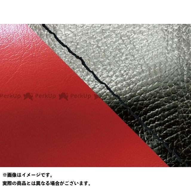 グロンドマン MT-09 MT-09/FZ-09 国産シートカバー 黒&赤 タイプ:張替 仕様:黒ステッチ Grondement