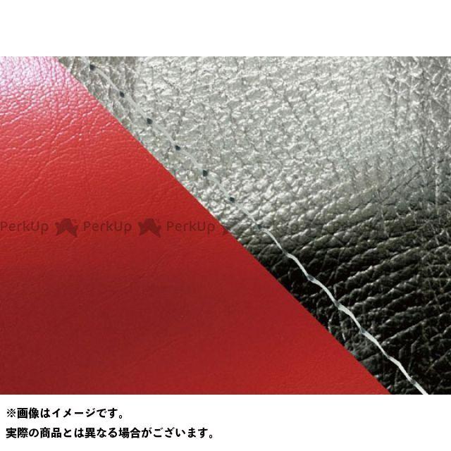 グロンドマン MT-09 MT-09/FZ-09 国産シートカバー 黒&赤 タイプ:張替 仕様:透明ステッチ Grondement