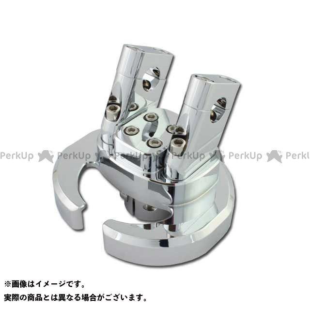 ライズコーポレーション マジェスティ125 マジェスティ125 5CA メッキ アルミハンドルポスト RISE CORPORATION