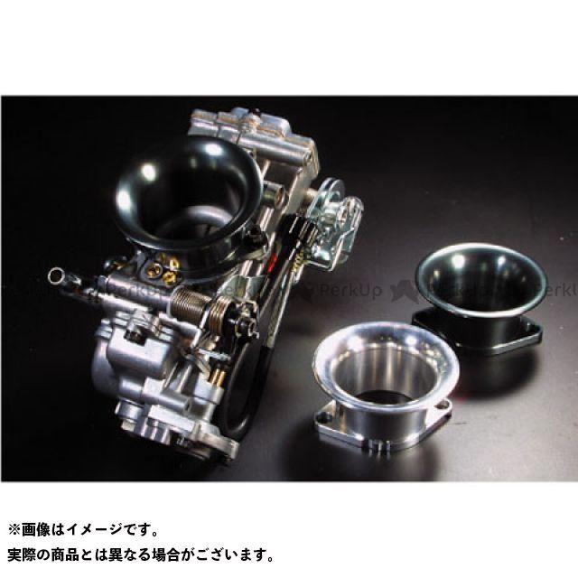ワークスクオリティ 汎用 キャブレター関連パーツ アルミファンネル FCRラージボディ用 ショート ガンメタ 4個セット
