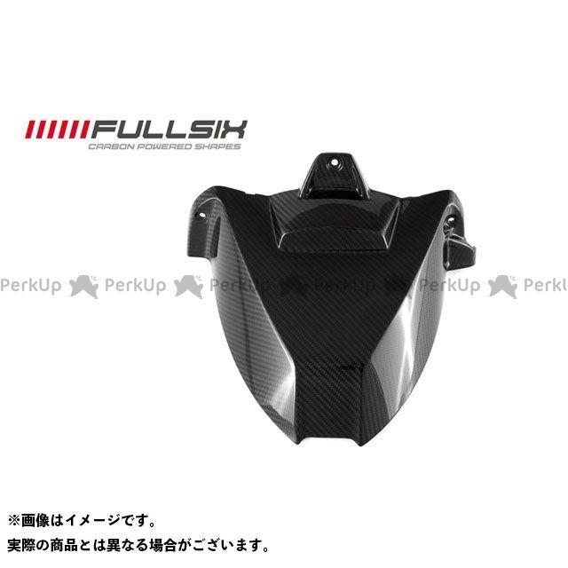 フルシックス S1000RR リアフェンダー ホールなし コーティング:クリアコート(艶あり) カーボン繊維の種類:245Twill 綾織り FULLSIX